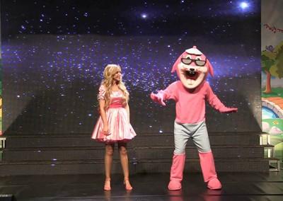 הצגת ילדים ולכל המשפחה | ג'ורגדי הארנב ומירי תשירי במופע