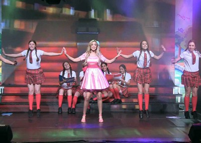 ריקודים ואהבה במופע ילדים