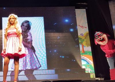 הופעה לילדים עם ג'ורדי הארנב וכוכבת הילדים