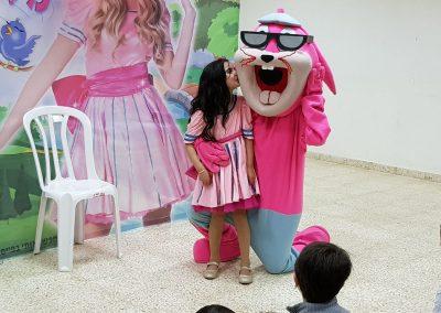 הפעלה ליום הולדת עם ג'ורדי הארנב - פעילויות ליום הולדת עם בובות ענק
