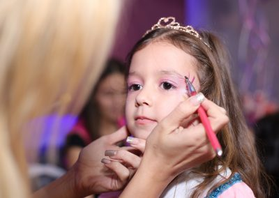 איפור ליום הולדת - איפור להפעלת יום הולדת לילדים