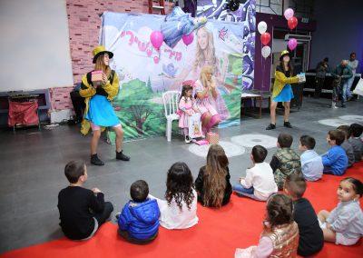 הפעלה מיוחדת ליום הולדת עם כוכבת הילדים ורקדניות